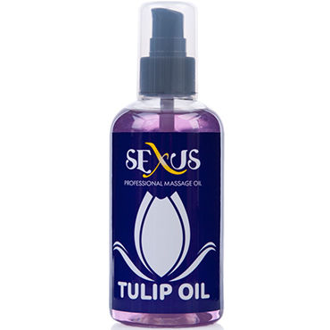 Sexus Tulip Oil, 200 мл Массажное масло, с ароматом тюльпана waterproof 10 mode silicone butt vibrating anal plug sex toy