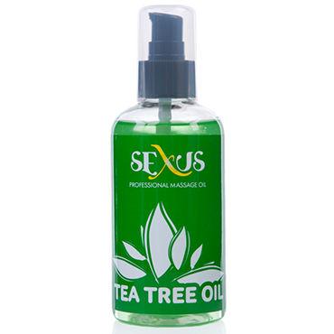 Sexus Tea tree Oil, 200 мл Массажное масло, с ароматом чайного дерева sextoy кольцо фиолетовый эрекционное кольцо со стимулятором клитора