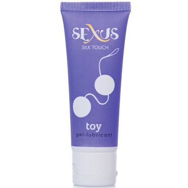 Sexus Silk Touch Toy, 50 мл Увлажняющая гель-смазка для секс-игрушек adult sex prodult strap on anal plug t back harness dildos penis