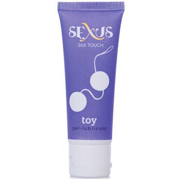 Sexus Silk Touch Toy, 50 мл Увлажняющая гель-смазка для секс-игрушек дилдо вибратор 30 скорость двойная вибрация g место вибратор секс игрушки для женщинывзрослые секс игрушки секс товары