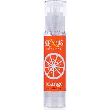Sexus Crystal Orange, 60 мл Увлажняющая гель-смазка с ароматом апельсина viva презервативы ребристые 12 шт