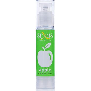 Sexus Crystal Apple, 60 мл Увлажняющая гель-смазка с ароматом яблока sexus silk touch toy 50 мл увлажняющая гель смазка для секс игрушек