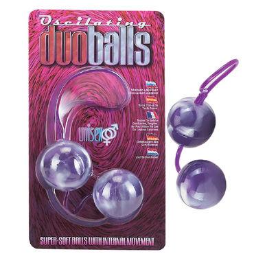 Dream Toys шарики вагинальные, 3,5 см, фиолетовые Мягкие, со смещенным центром тяжести анальные игрушки для двоих rocks off
