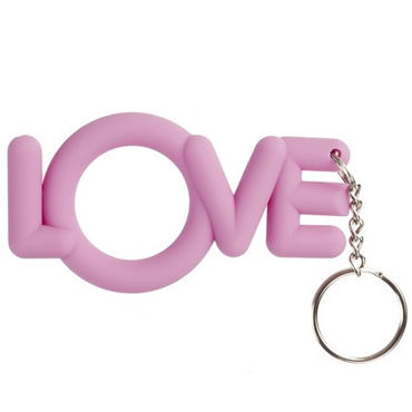 Shots Toys Love Cocking, розовый Необычное эрекционное кольцо