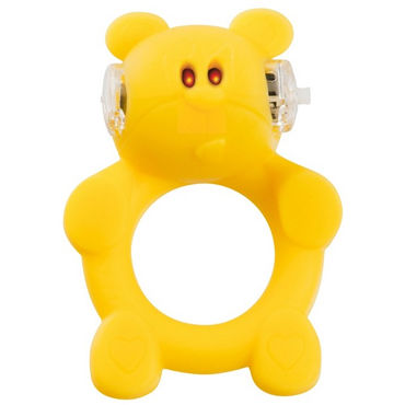 S-Line Beasty Toys Brutal Bear Виброкольцо в виде медвежонка костюм le frivole готическая вампирша s m