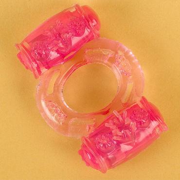 Toyfa кольцо, розовое С вибрацией toyfa кольцо прозрачное с вибрацией