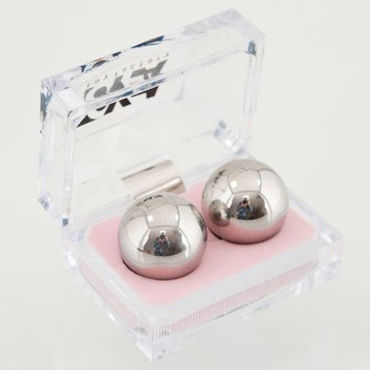 Toyfa вагинальные шарики, 2,5 см Металлические, в коробочке sitabella наручники серебристо голубой с подкладкой из искусственного меха