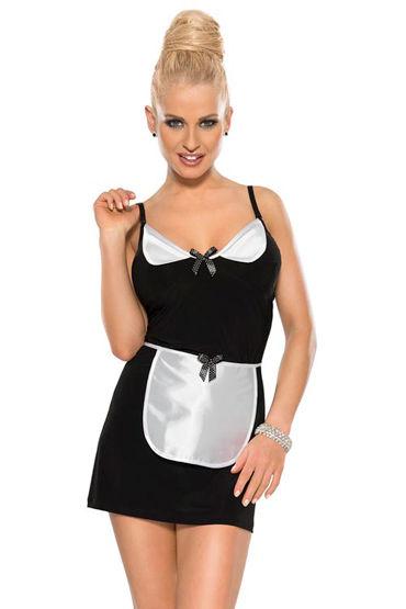 Roxana Костюм официантки Платье-мини и фартук d cotelli платье горничной черно белое