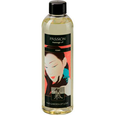 Shiatsu Oil Passion Rose, 250 мл Массажное масло роза starburst wind spinner