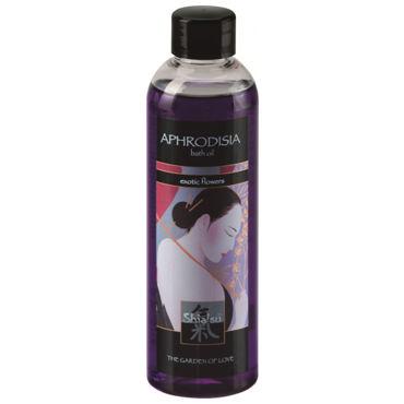 Shiatsu Aphrodisia Exotic Flowers, 250 мл Масло для ванны экзотические цветы анальный массажер sexus glass 13 5 см
