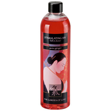 Shiatsu Stimulating Sin Yuzu Ginger, 250 мл Гель для душа и ванны имбирь shiatsu aphrodisia exotic fruits 250 мл масло для ванны экзотические фрукты