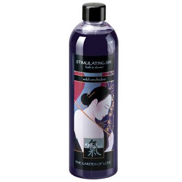 Shiatsu Stimulating Sin Wild Orchidee, 400 мл Гель для душа и ванны дикая орхидея shunga lovebath фрукты дракона 650 гр гель для ванны