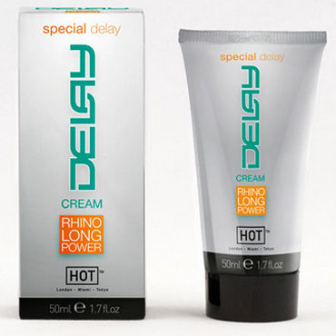 Hot Delay Cream, 50 мл