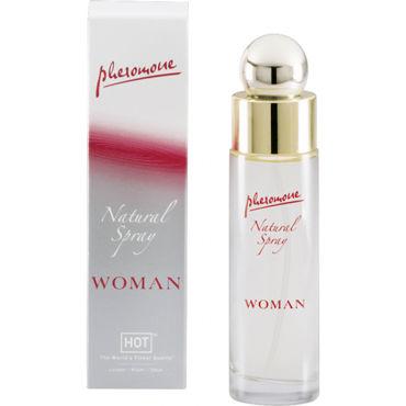 Hot Woman Natural Spray, 45 мл Духи для женщин с феромонами hot delay spray 50 мл 350