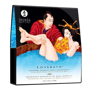 Shunga Lovebath Океанское искушение, 650 гр Гель для ванны пояс vac u lock panty harness with plug dual strap размер l xl
