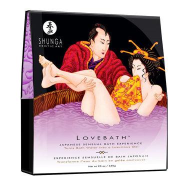 Shunga Lovebath Чувственный лотос, 650 гр Гель для ванны bioclon вибратор реалистичной формы 21см с многоскоростной вибрацией в картонной упаковке