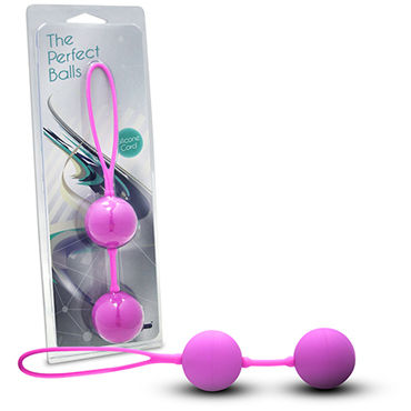 Gopaldas Perfect balls Вагинальные шарики, розовые toyz4lovers candy balls синие вагинальные шарики