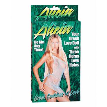 Gopaldas Alicia Кукла виниловая gopaldas vibrating vagina pump черная вакуумный массажер для клитора