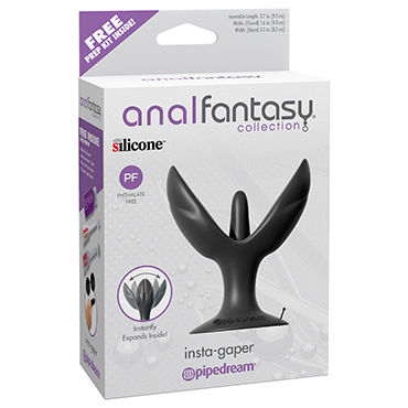 Pipedream Anal Fantasy Collection Insta-Gaper Раскрывающаяся анальная втулка toyfa real stick elite vibro 16 см вибратор реалистичной формы