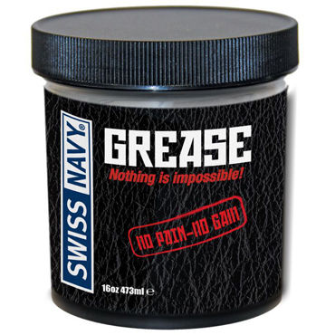 Swiss Navy Grease, 473 мл Крем для фистинга swiss navy all natural 59 мл гипоаллергенный лубрикант для женщин