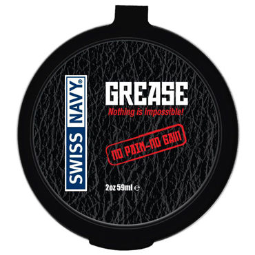 Swiss Navy Grease, 59 мл Крем для фистинга swiss navy all natural 59 мл гипоаллергенный лубрикант для женщин