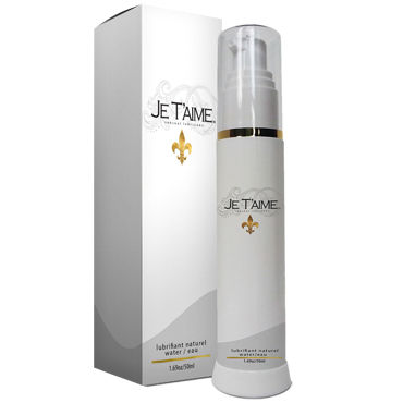 Je Taime All Natural WaterBase Lube, 50мл
