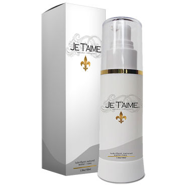 Je Taime All Natural WaterBase Lube, 100мл