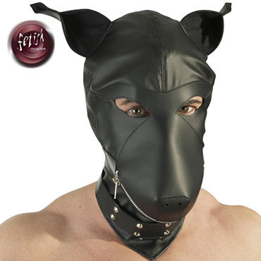 Orion Fetish Collection Dog Mask, черная Шлем маска собака orion emilio armori cockring collection