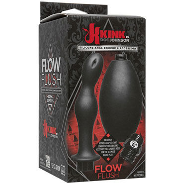Doc Johnson Kink Flow Flush, черный