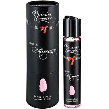 Plaisirs Secrets Massage Oil Candy Floss, 59мл Массажное масло Сладкая вата shunga kissable massage cream pear