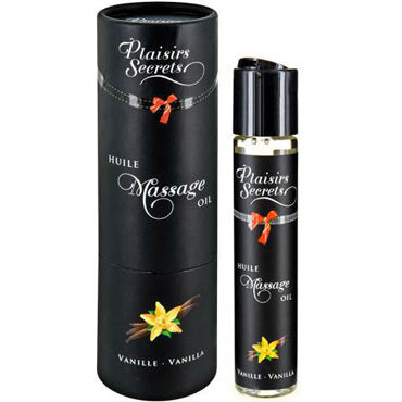 Plaisirs Secrets Massage Oil Vanilla, 59мл Массажное масло Ваниль shunga kissable massage cream pear