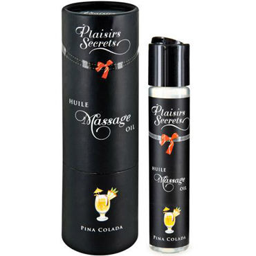 Plaisirs Secrets Massage Oil Pina Colada, 59мл Массажное масло Пина колада ruf taboo plaisirs charnels 165 г массажное масло с ароматом амбры и мускуса