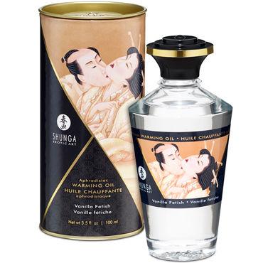 Shunga Vanilla Fetish, 100 мл Массажное масло Ванильный фетиш lulu презерватив мужской 36 шт секс игрушки для взрослых