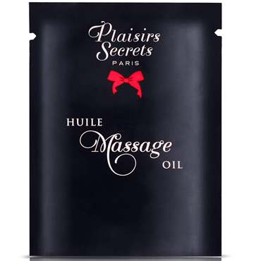 Plaisirs Secrets Massage Oil Pina Colada, 3мл Массажное масло Пина колада