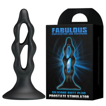 Baile Fabulous, черный Анальный плаг, массажер простаты стимуляторы простаты тьс з