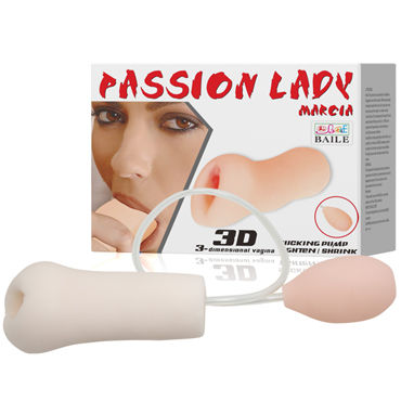 Baile Passion Lady Marcia 3D dimensional Vagina, телесный Мастурбатор вагина с грушей, с имитацией 3D вакуума мужские духи с феромонами park royal prestige adult products rush gya 90%