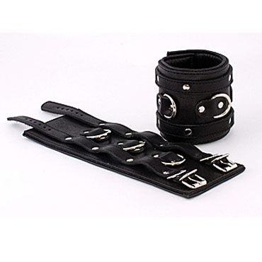 Beastly наручники, черные С подвернутой подкладкой podium наручники широкие с одной пряжкой
