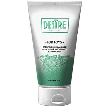 Desire For Toys, 150 мл Очищающее средство для игрушек ж kiss me 4ever yourself