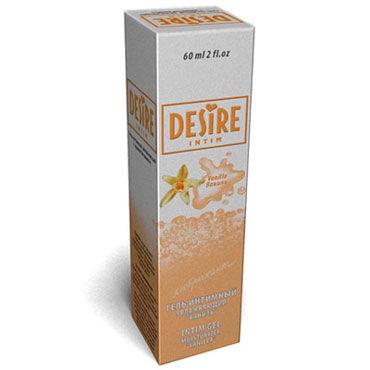 Desire Intim Vanilla, 60 мл Лубрикант на водной основе с ароматом ванили topco climax gems crystal ring прозрачное эрекционное кольцо с вибрацией