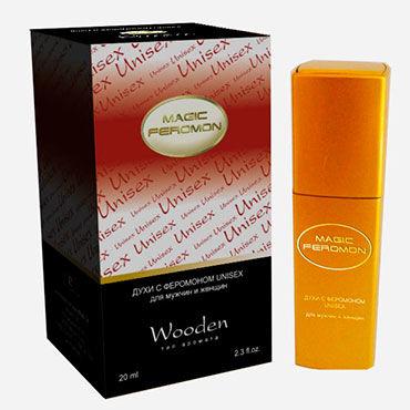 Magic Feromon Wooden Unisex, 20 мл Духи с феромонами унисекс, древесный аромат смазки усиливающие ощущения другой мир