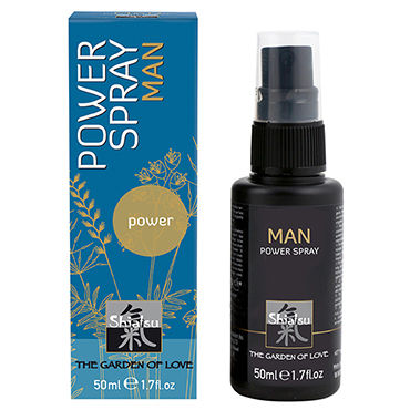 Shiatsu Man Power Spray, 50 мл Спрей для мужчин, увеличивающий эрекцию ду frivole старшая медсестра ж