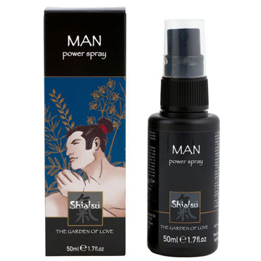 Тестер Shiatsu Man Power Spray Спрей для мужчин, увеличивающий эрекцию электростимуляция длина до 12 см