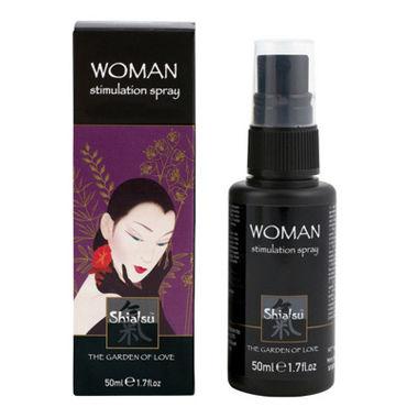 Тестер Shiatsu Woman Stimulation Spray Стимулирующий спрей для женщин возбуждающие средства для женщин shiatsu