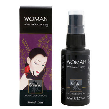 Тестер Shiatsu Woman Stimulation Spray Стимулирующий спрей для женщин bioritm lovegel c crazy 50 мл увлажняющий лубрикант с афродизиаком