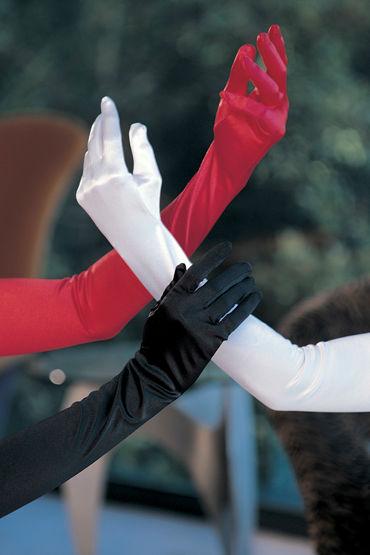 Shirley перчатки, красные Атласные к shirley комплектации