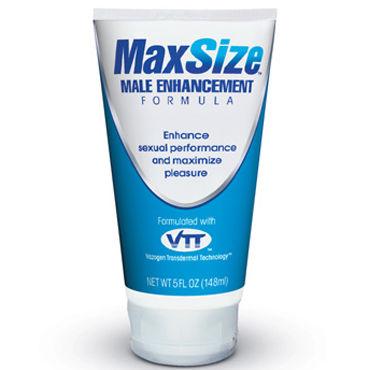 Swiss Navy MaxSize, 148 мл Возбуждающий крем для усиления эрекции риа панда сеалекс форте 4 шт для лечения эректильной дисфункции