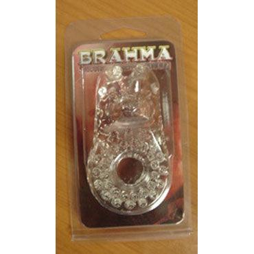 Gopaldas Brahma Эрекционное кольцо со стимулятором клитора blueline prostate gear черный массажер простаты