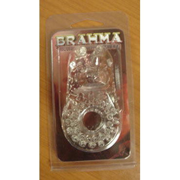 Gopaldas Brahma Эрекционное кольцо со стимулятором клитора gopaldas real vibe stimulator вибратор со стимуляцией клитора