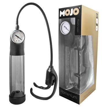 Gopaldas Mojo Momentum Мужская помпа с манометром gopaldas ultra flex pump помпа с мягкой колбой