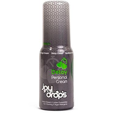 JoyDrops Deloy Cream, 50 мл Пролонгирующий крем для мужчин lelo sensua черный замшевая плеть для страстных игр